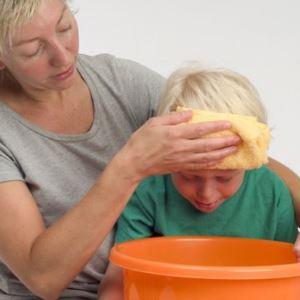 Рвота у ребенка 9 месяцев